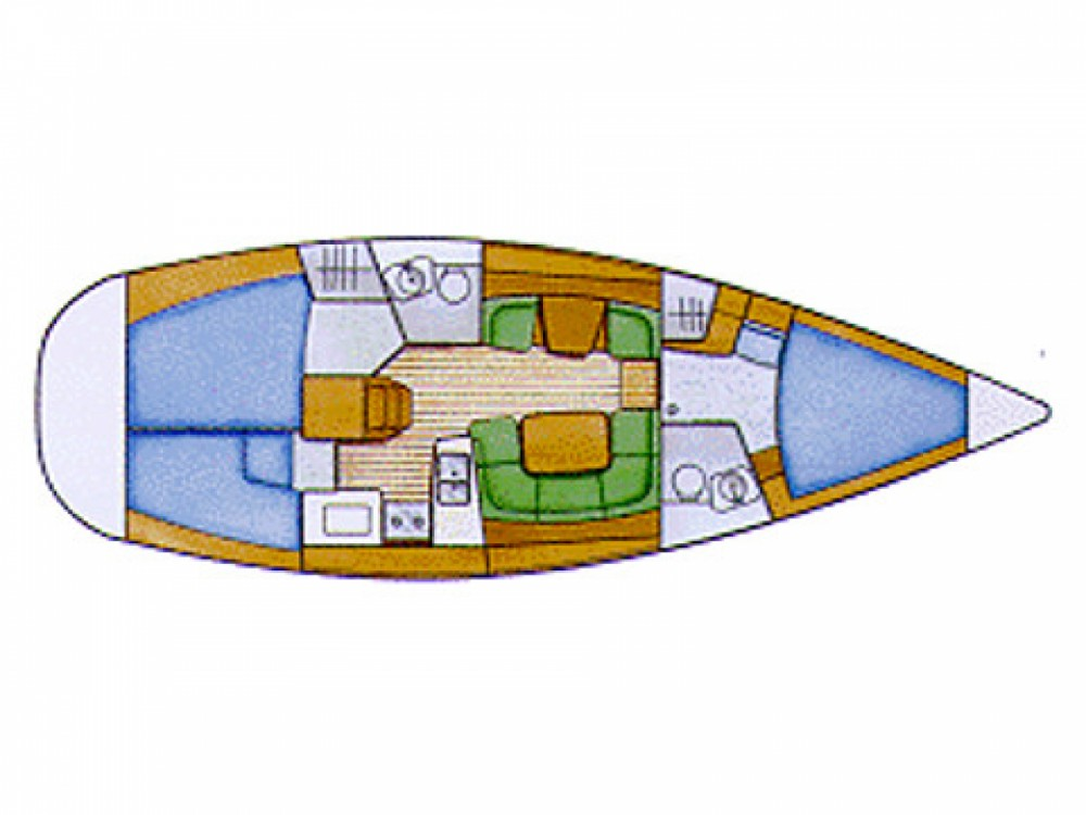 Location bateau Le Marin pas cher Sun Odyssey 42i
