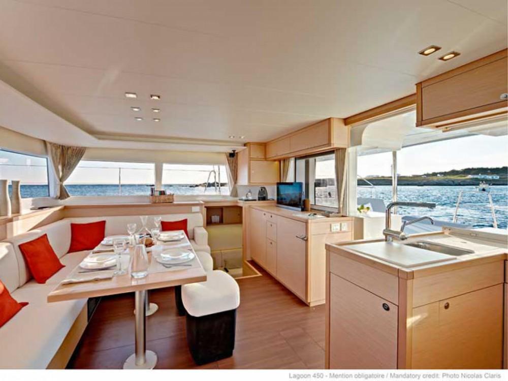 Location Catamaran à Le Marin - Lagoon Lagoon 450