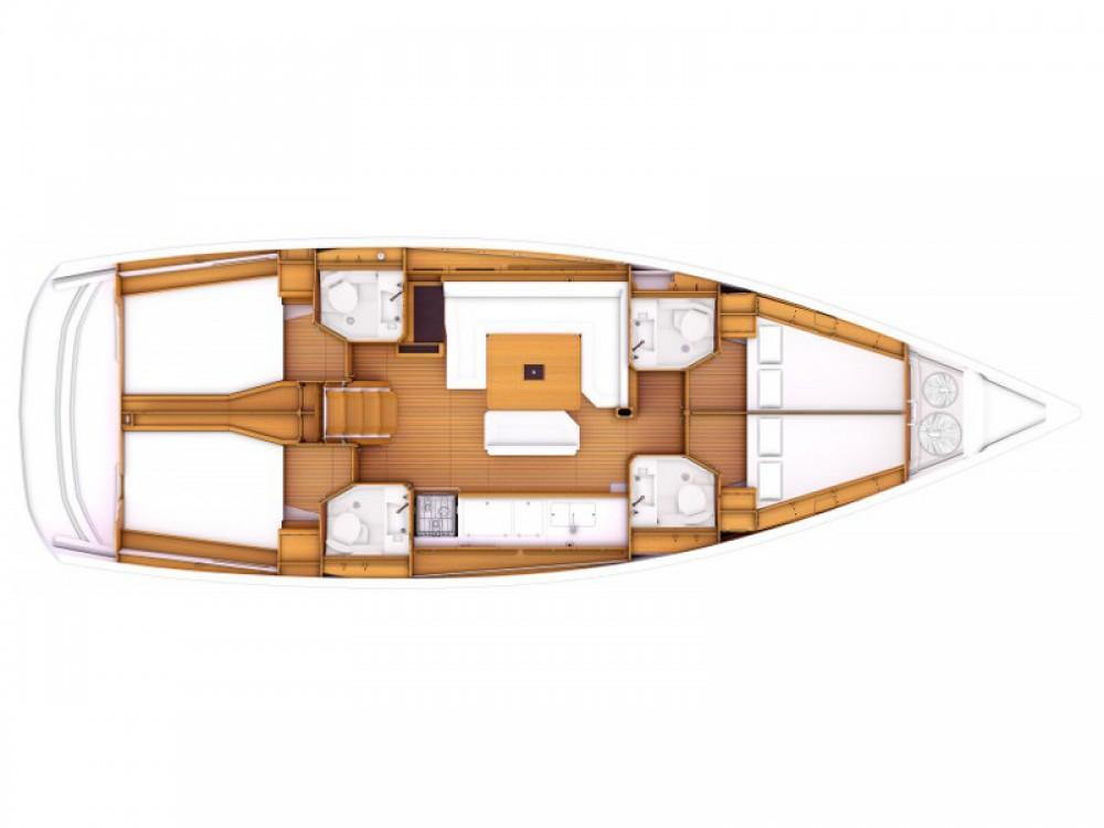 Location bateau Jeanneau Sun Odyssey 469 à Le Marin sur Samboat