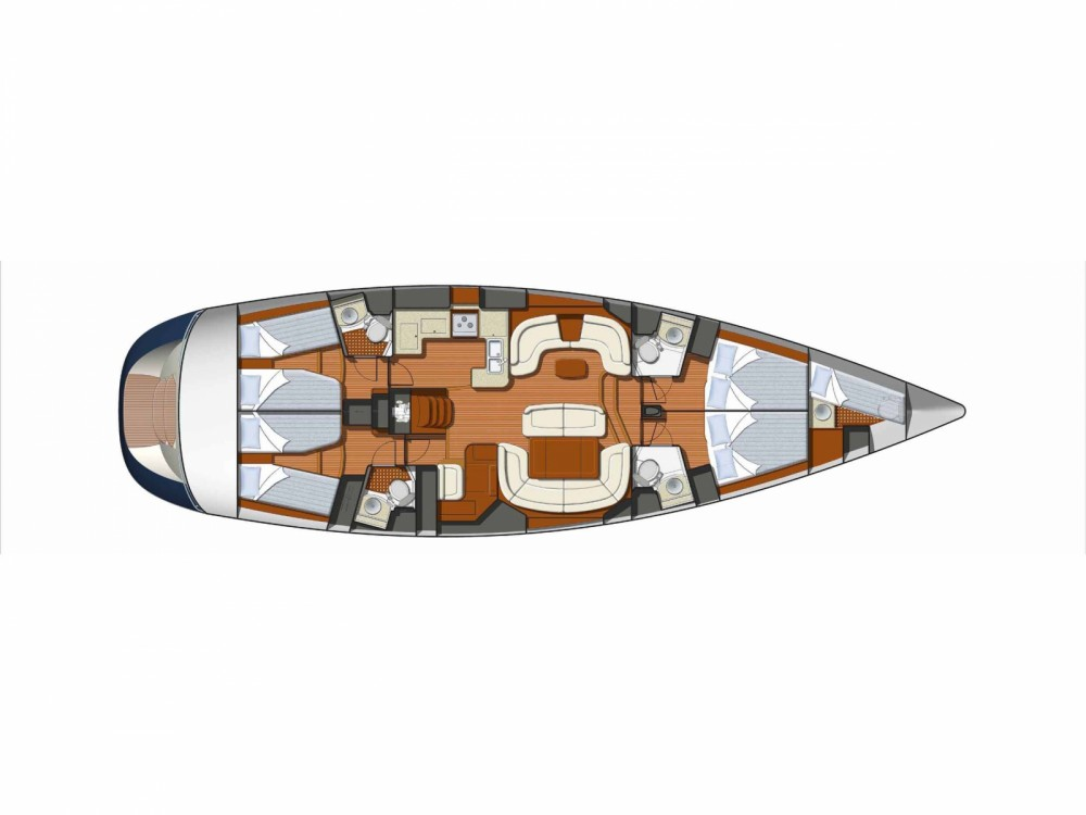 Louez un Jeanneau Sun Odyssey 54DS-4 à Le Marin