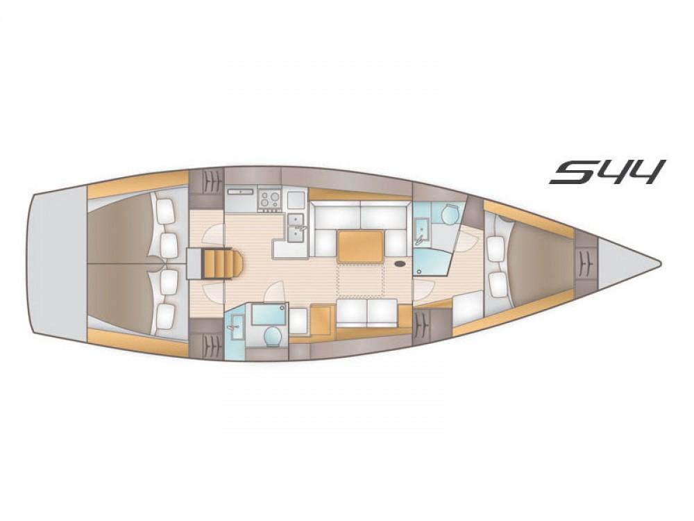 Location bateau Salona Salona 44 à Marina Naviera Balear sur Samboat