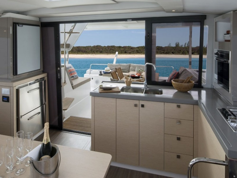 Fountaine Pajot Lucia 40 between personal and professional Alimos Marina