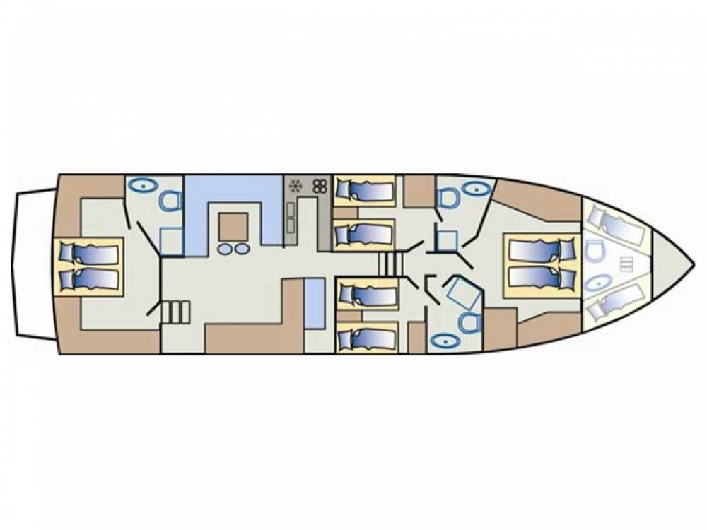 Rental Yacht in Primošten - Yaretti Yaretti 2110