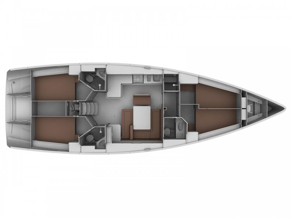 Bavaria Cruiser 45 entre particuliers et professionnel à ACI Marina Split