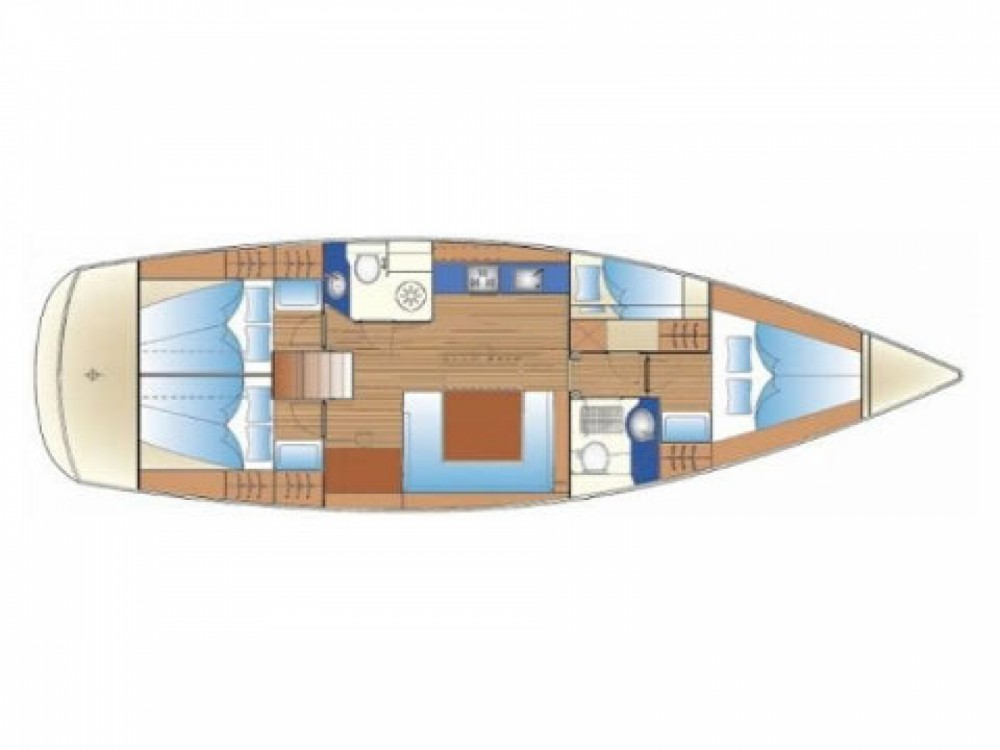 Location bateau Marina di Portisco pas cher Bavaria 47 C