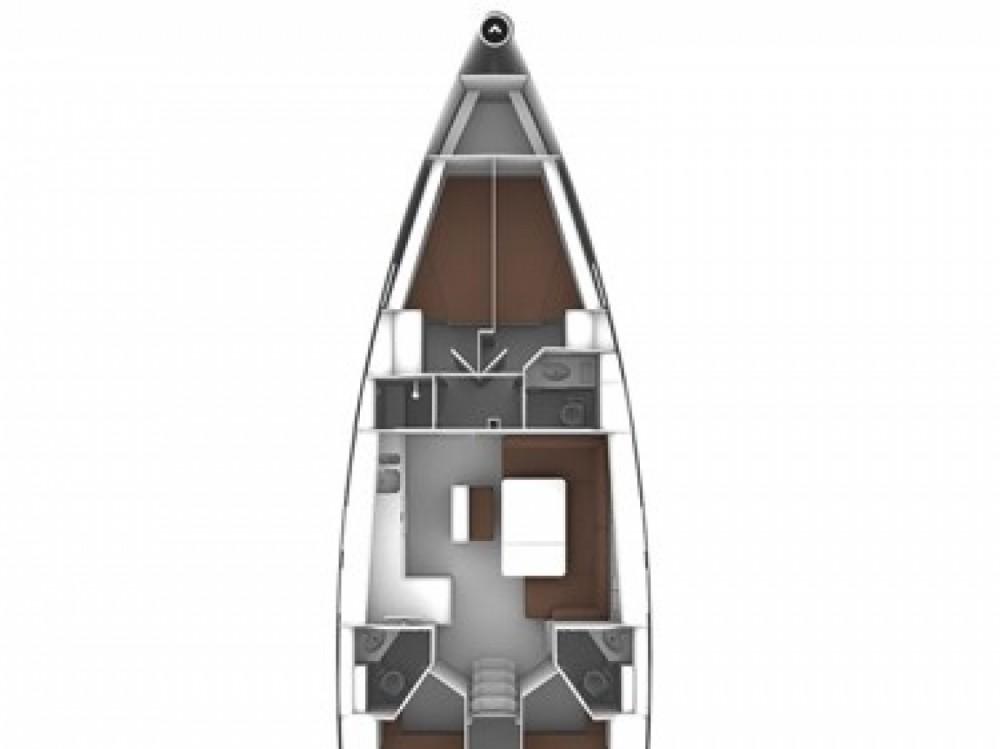 Location bateau Marina di Portisco pas cher Cruiser 46