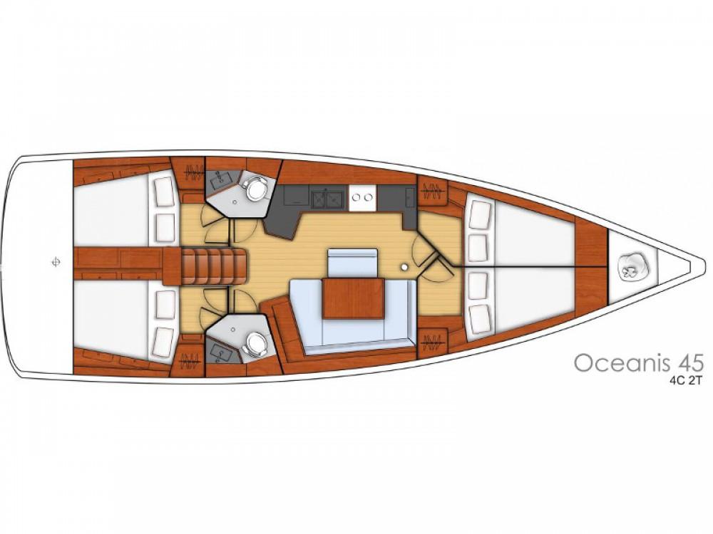 Location yacht à Sibenik - Bénéteau Oceanis 45 sur SamBoat