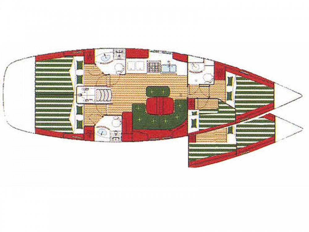 Location Voilier à Furnari - Bénéteau Oceanis 423 Exclusive