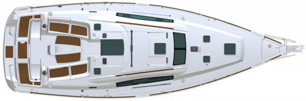 Location bateau Muğla pas cher Oceanis 40