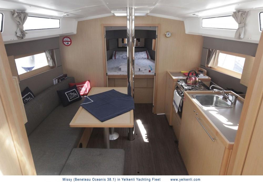 Location yacht à Orhaniye - Bénéteau Oceanis 38.1 sur SamBoat
