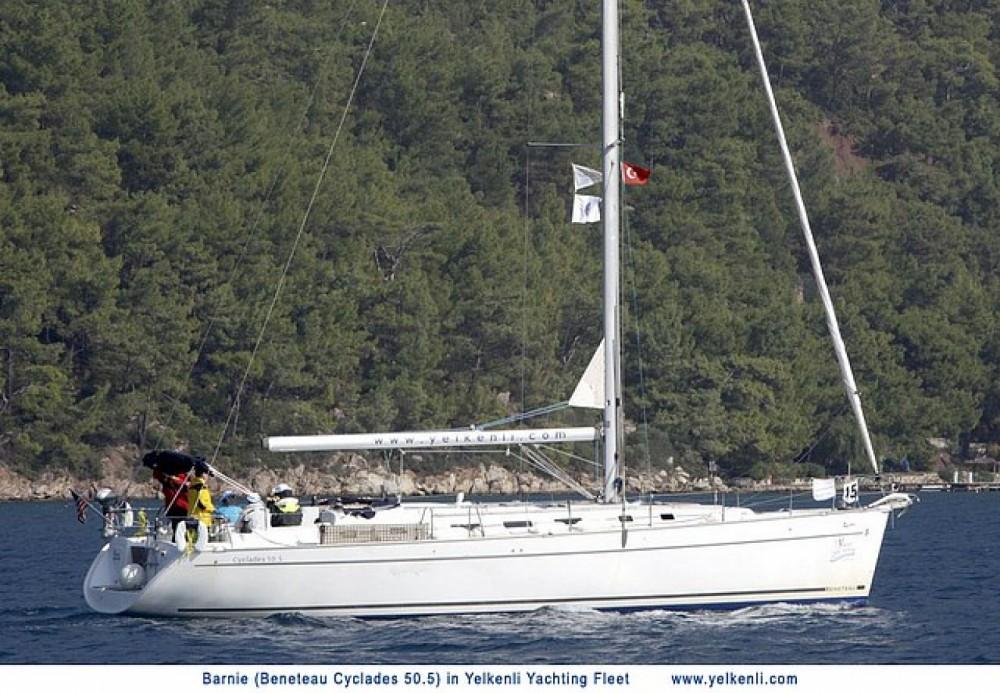 Location bateau Bénéteau Cyclades 50.5 à Orhaniye sur Samboat