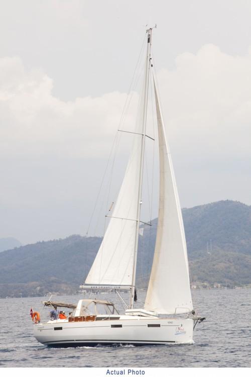 Location bateau Orhaniye pas cher Oceanis 41