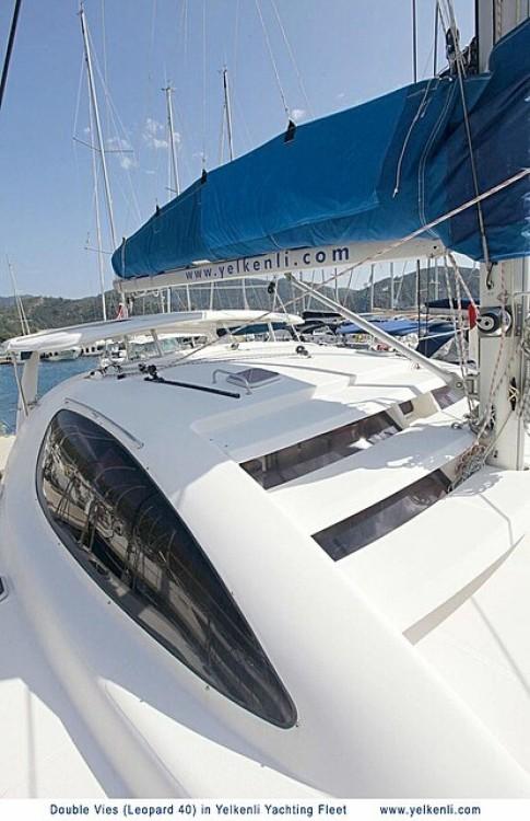 Location bateau Muğla pas cher Leopard 40
