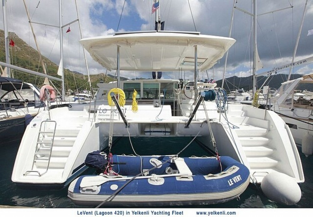 Location Catamaran à Muğla - Lagoon Lagoon 420