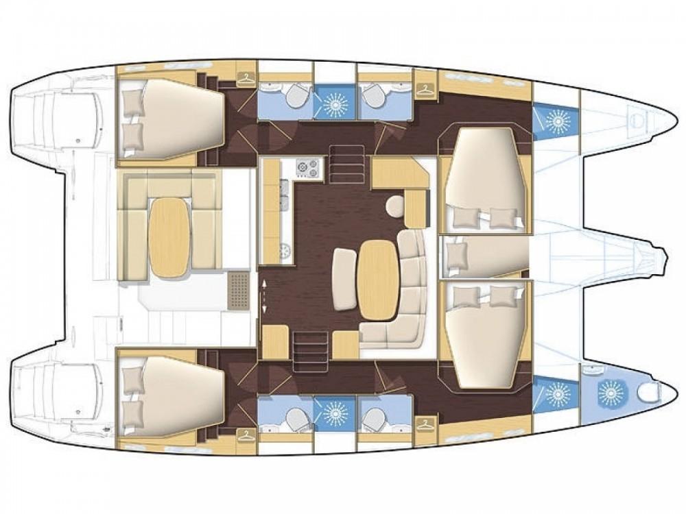 Location yacht à Muğla - Lagoon Lagoon 420 sur SamBoat