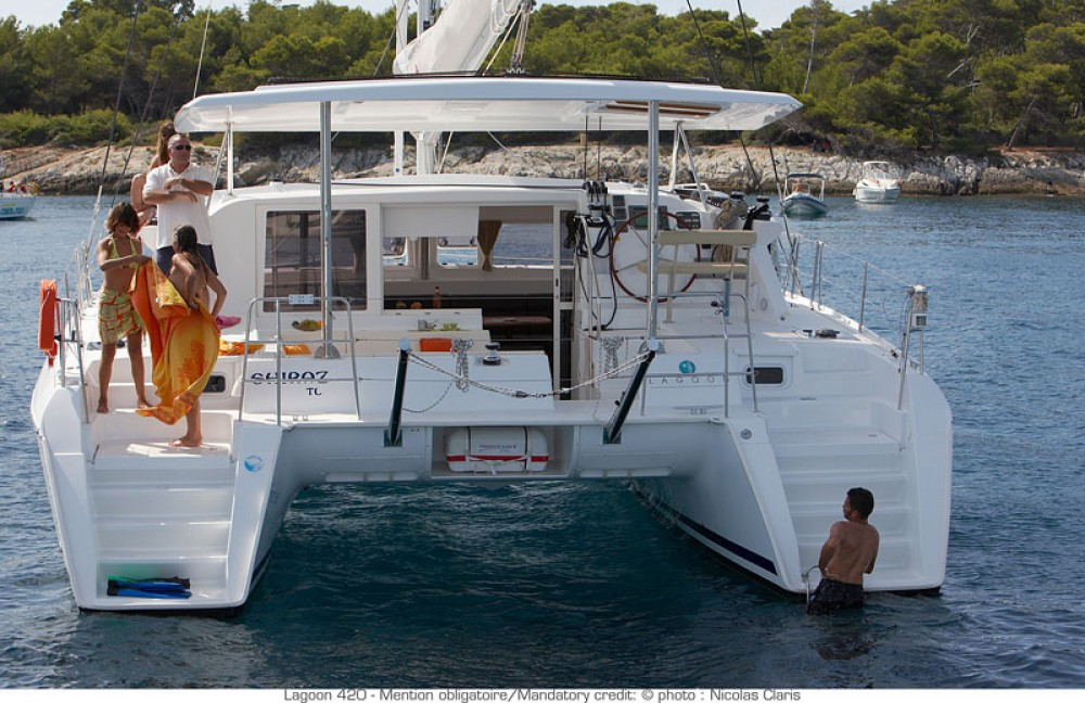 Location Catamaran à Muğla - Lagoon Lagoon 420