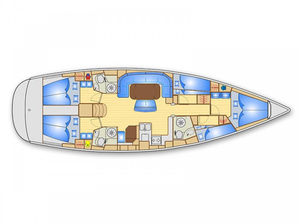 Louer Voilier avec ou sans skipper Bavaria à Marina Kaštela