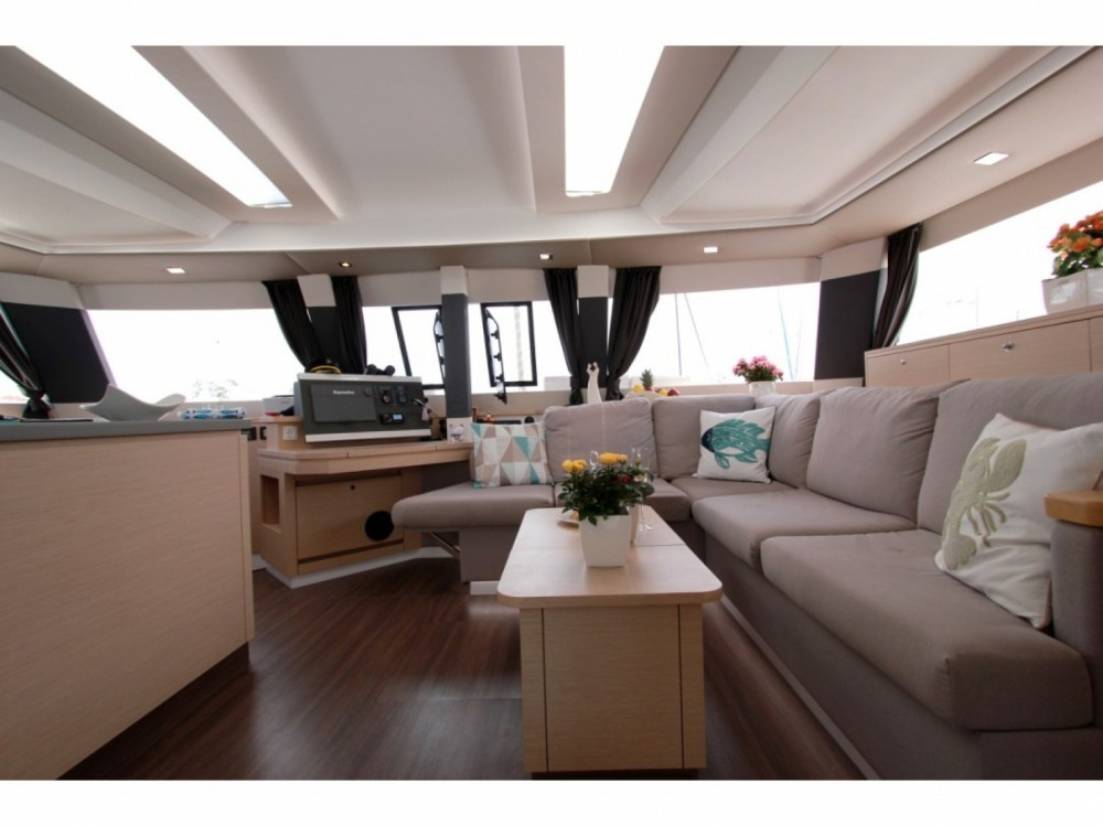 Location yacht à Myconos - Fountaine Pajot Saba 50 sur SamBoat