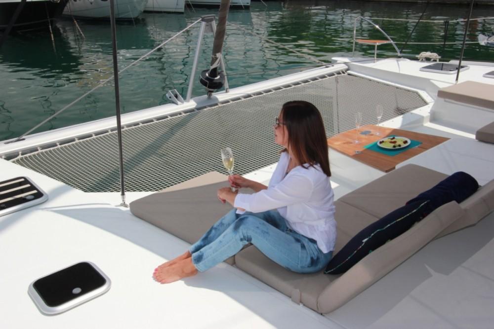 Louer Catamaran avec ou sans skipper Fountaine Pajot à Myconos