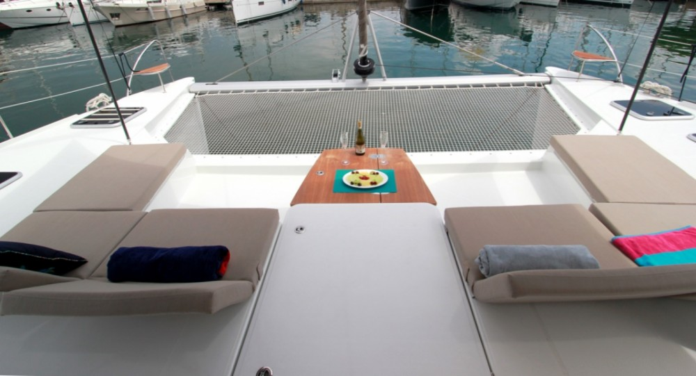 Location yacht à Mykonos - Fountaine Pajot Saba 50 sur SamBoat