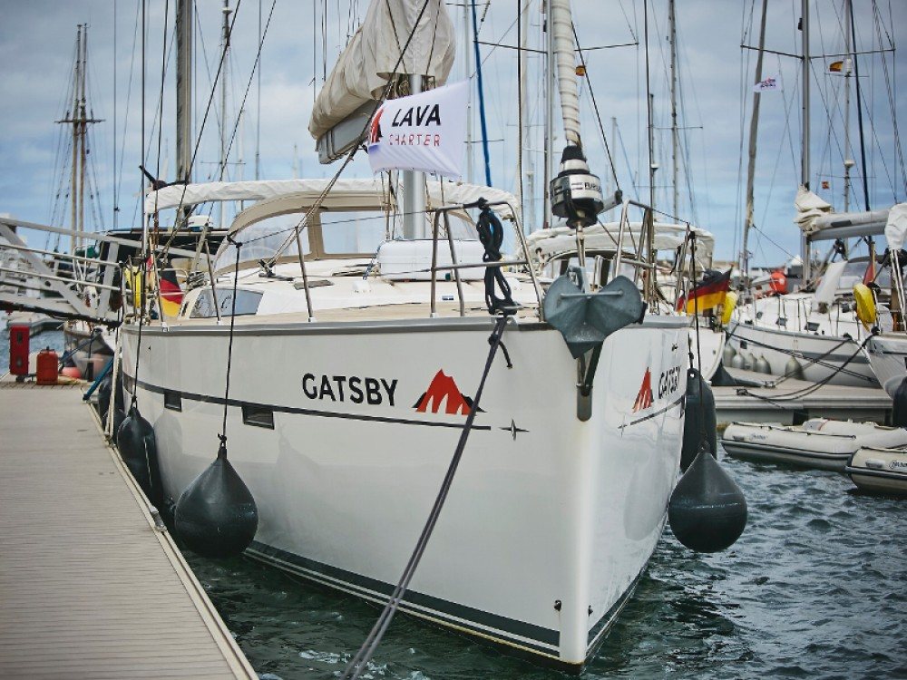 Hire Sailboat with or without skipper Bavaria Marina Lanzarote
