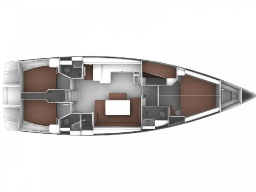 Bavaria Cruiser 51 between personal and professional Marina Lanzarote