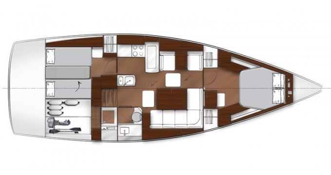 Louez un Bavaria Vision 46 à Marina Lanzarote