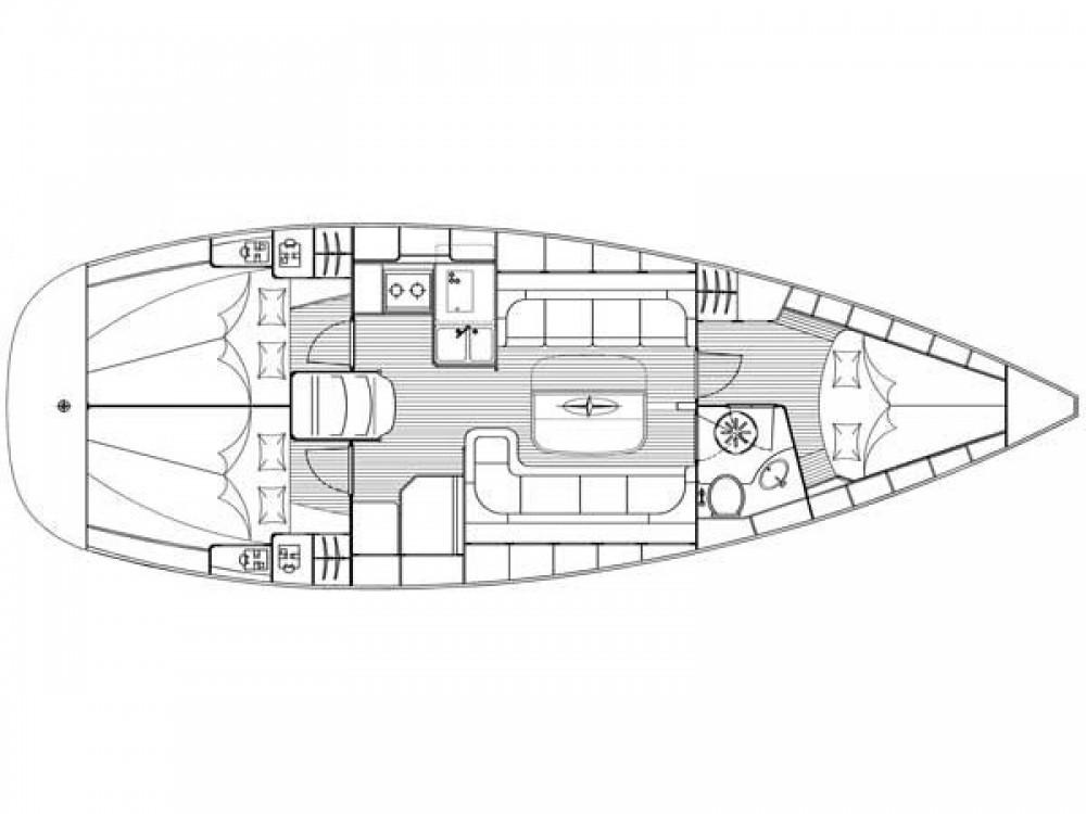Location bateau Bavaria Cruiser 37 à Marina Zadar sur Samboat