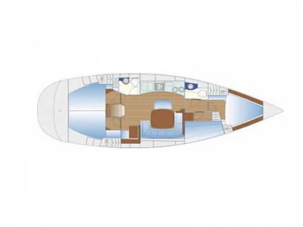 Sailboat for rent Marina Borik at the best price