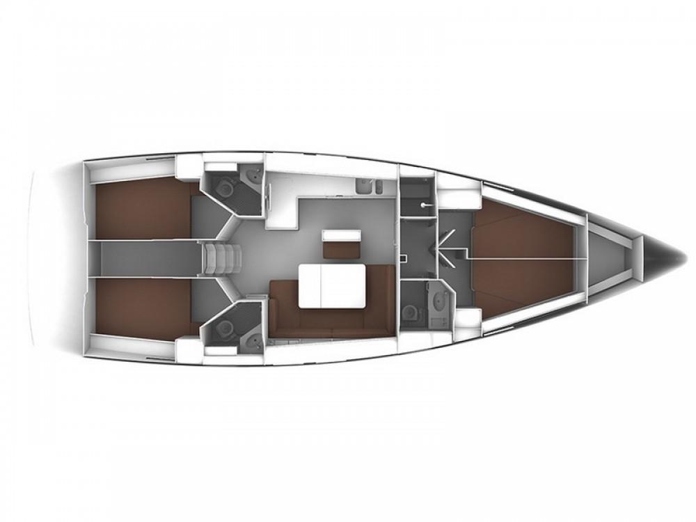 Location bateau Marina Zadar pas cher Bavaria Cruiser 46