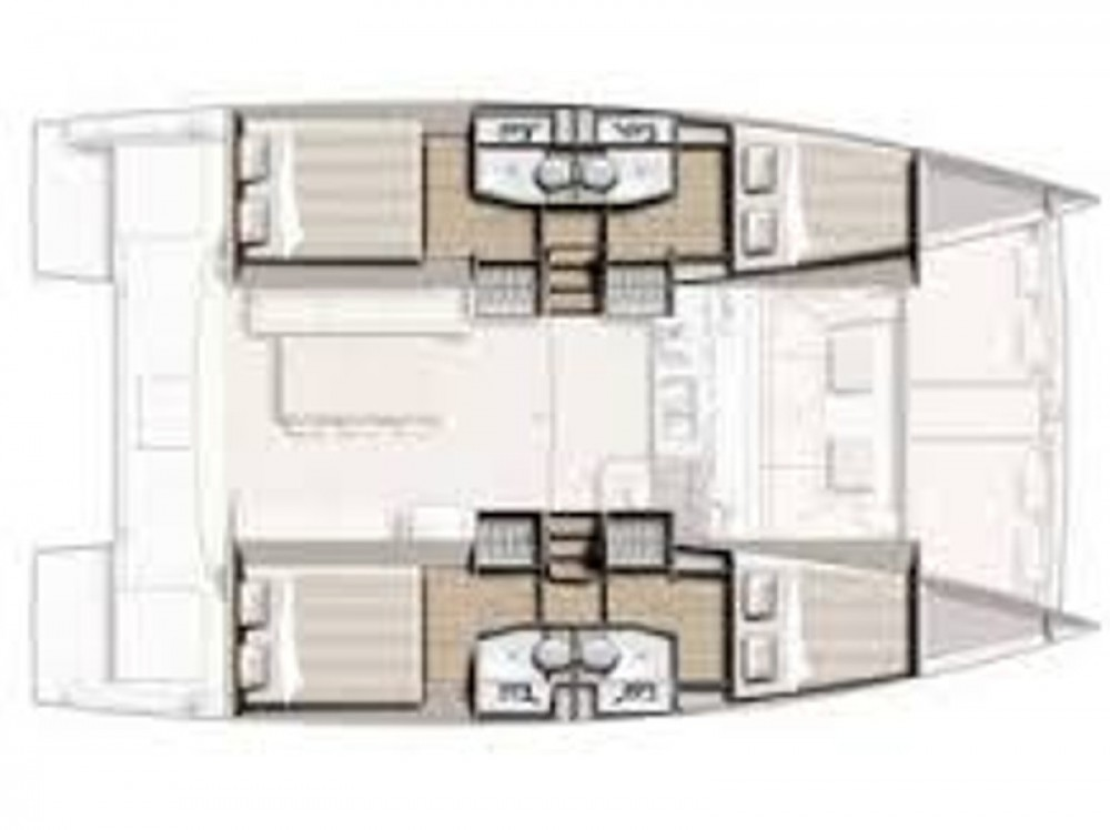 Louez un Bali Catamarans Bali 4.0 à Sibenik