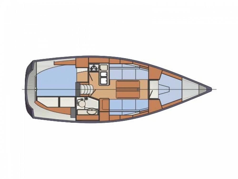 Location bateau Sibenik pas cher Delphia 31