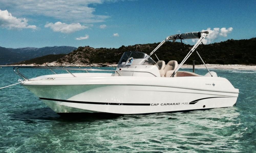 Alquiler de barcos Okrug Gornji barato de Cap Camarat 635 Cc