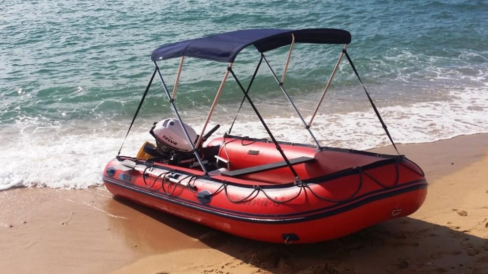 Schlauchboot mieten in Palamós zum besten Preis