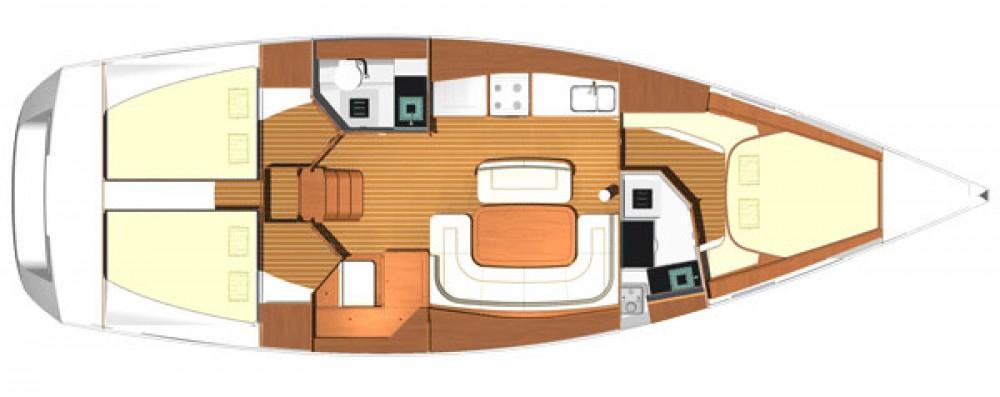 Location bateau Fethiye pas cher Dufour 425