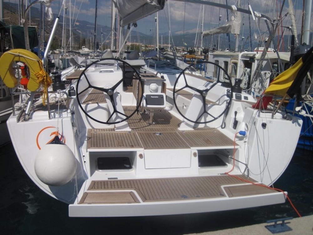 Location bateau Marmaris pas cher Hanse 495