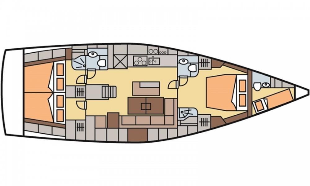 Louer Voilier avec ou sans skipper Hanse à Marmaris