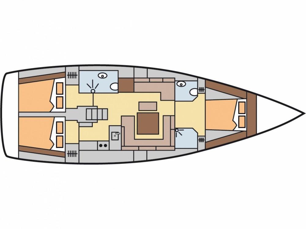 Location yacht à Fethiye - Hanse Hanse 455 sur SamBoat