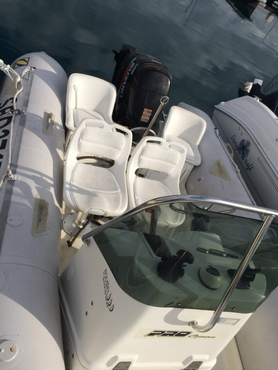 Boat rental Zodiac Pro Open 550 in Saint-Quay-Portrieux on Samboat