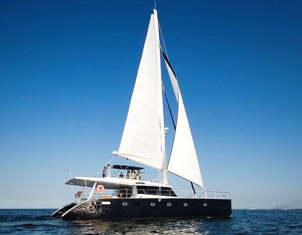 Louer Catamaran avec ou sans skipper Sunreef à Cannes
