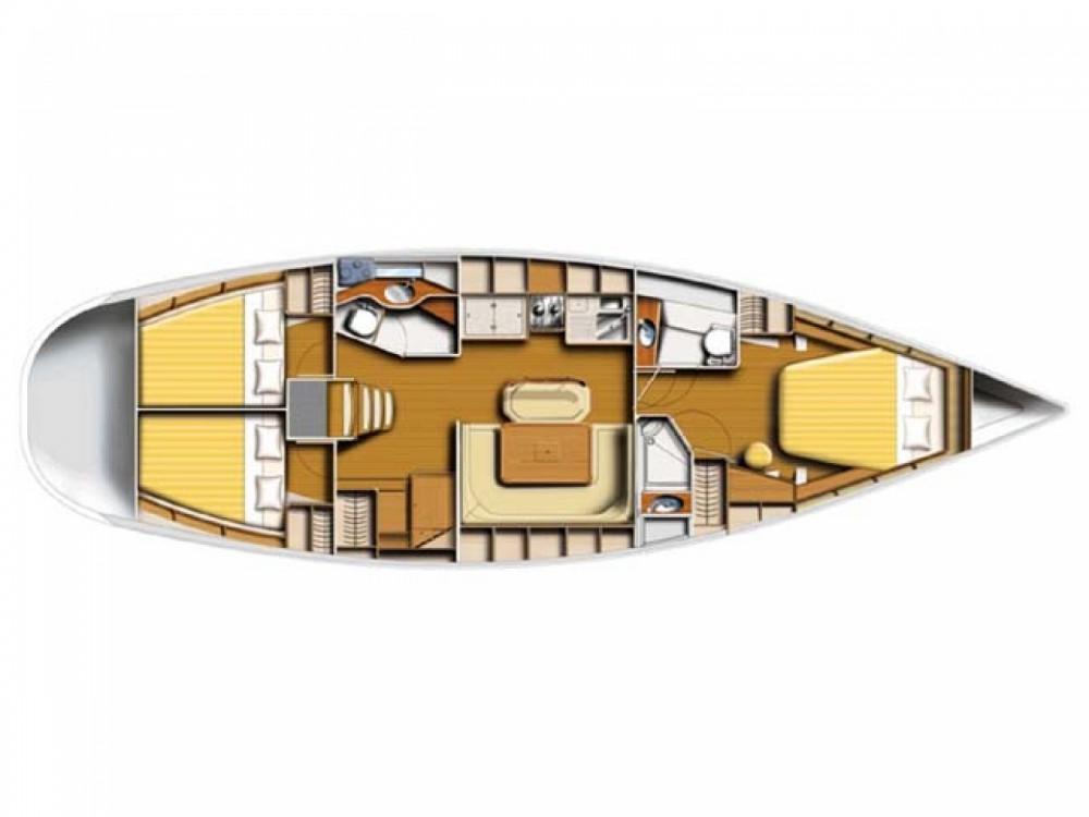 Location bateau Poncin Yachts Harmony 47 à Μαρίνα Αλίμου sur Samboat