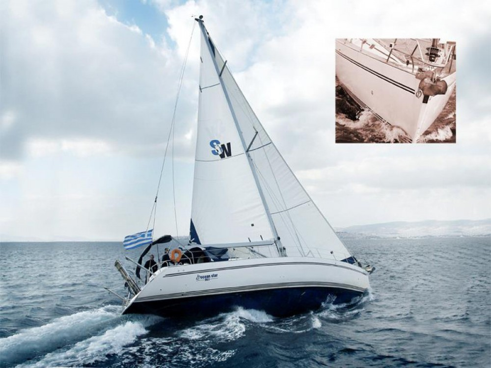 Louez un Ocean Ribs Ocean Star 56.1- 6 cabins à Marina de Alimos