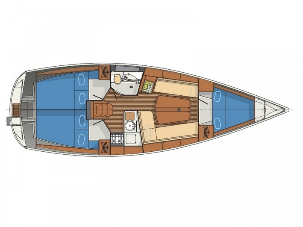 Location bateau Sibenik pas cher Delphia 37