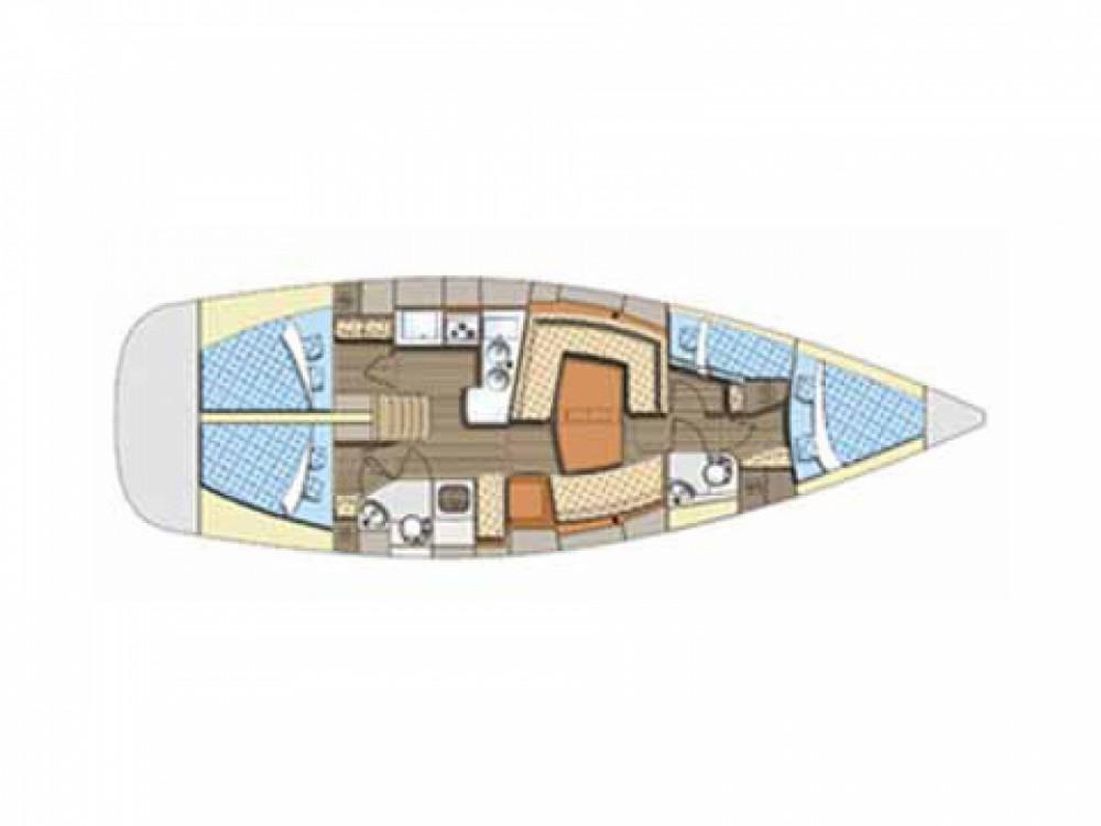 Location bateau Sibenik pas cher Elan 434