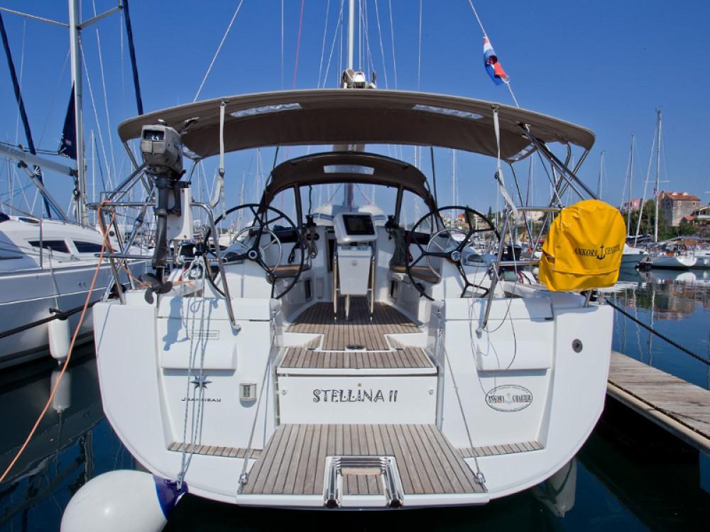 Location bateau Sibenik pas cher Sun Odyssey 409 Performance