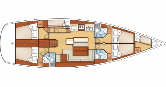 Location yacht à Rogač - Bénéteau Oceanis 50 Family sur SamBoat
