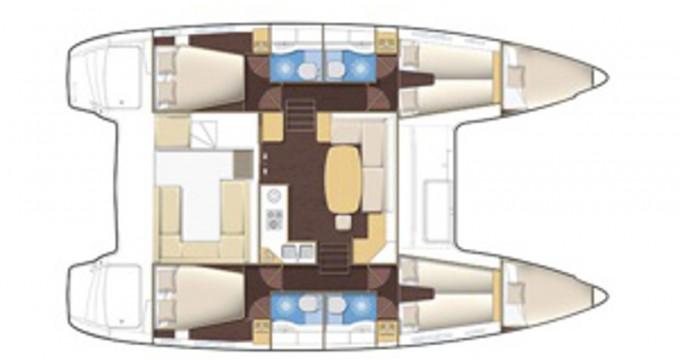 Location yacht à Rogač - Lagoon Lagoon 400 sur SamBoat