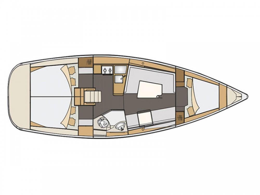 Noleggio yacht Marsiglia - Elan Elan 35 su SamBoat