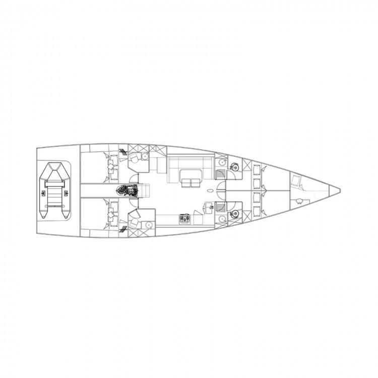 Location bateau Marsala pas cher More 55