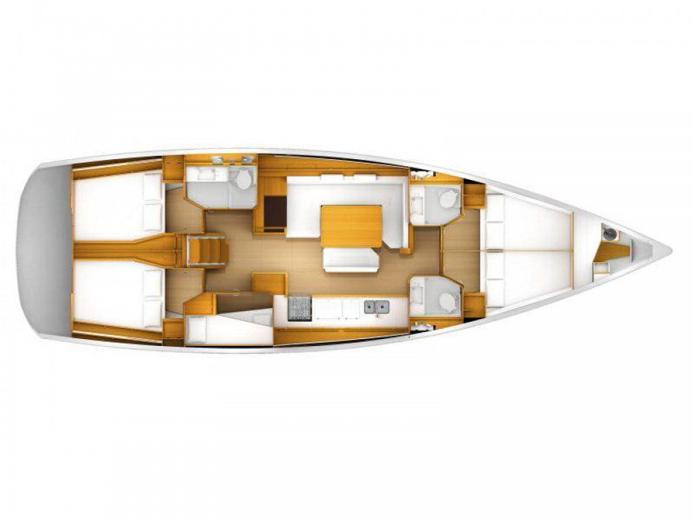 Location yacht à Furnari - Jeanneau Sun Odyssey 519 sur SamBoat